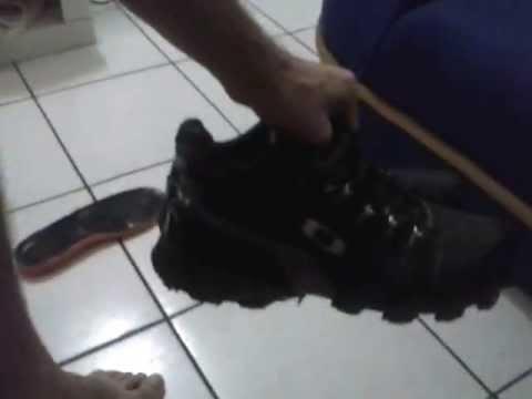 Tenis Oakley Teeth Sql 3 0 Preto Camurca Teste Youtube