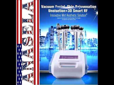 5 EN 1  Unoisetion Cavitation, Radio Frequency, Vacuum, Slimming Machine.