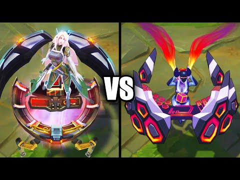 Legendary PsyOps Sona vs Ultimate DJ Sona Skins Comparison (League of Legends)