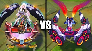 Legendary PsyOps Sona vs Ultimate DJ Sona Skins Comparison (League of Legends)