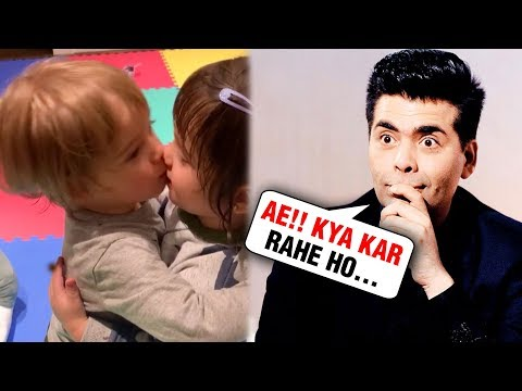 Karan Johar SHOCKED To See His Kids KISSING Each Other | WATCH Mp3