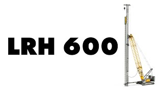 Liebherr - New LRH 600 Piling Rig