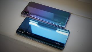 Huawei P20 Pro / P20 Hands-on - Woah 40 Megapixels!