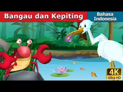 Bangau dan Kepiting |  Dongeng bahasa Indonesia | Dongeng anak | 4K UHD | Indonesian Fairy Tales