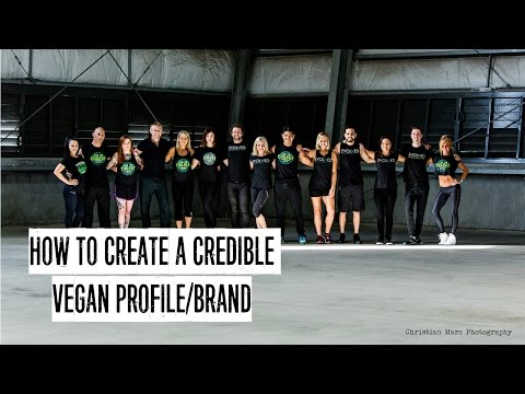 SW Ep.1: How to create a credible vegan profile/brand