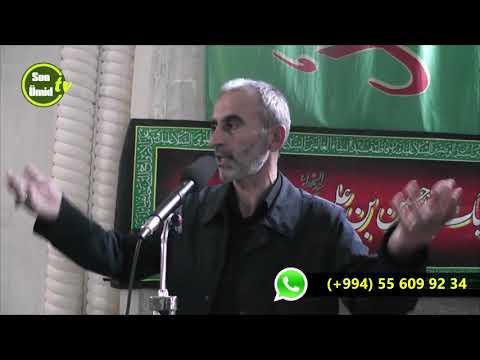 Hacı Əhliman mühərrəm moizəsi Qasımbəy məscidi 2017