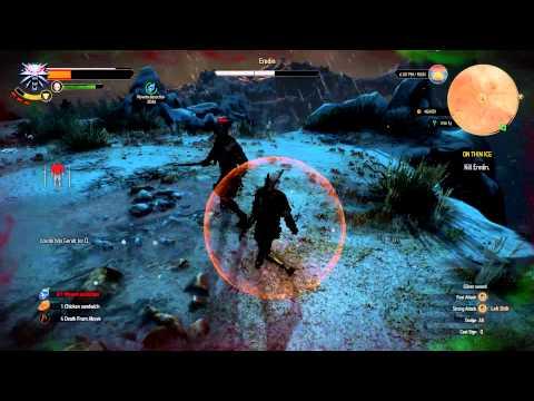 Witcher 3 - Eredin (Final Boss) Fight
