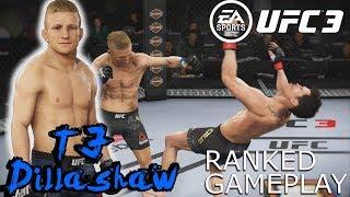 T.J. DILLASHAW HAS A DEADLY UPPERCUT EA Sports UFC 3