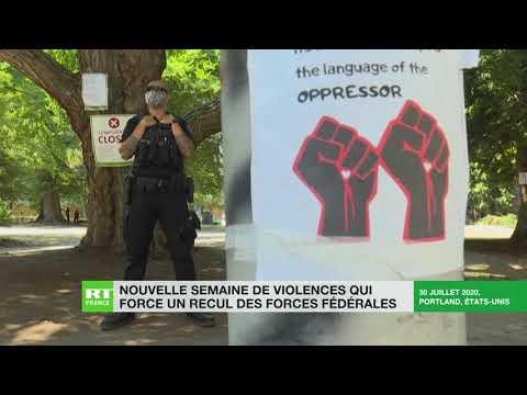 Retour sur une nouvelle semaine de violences à Portland