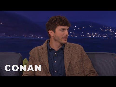 "Ashton Kutcher Is Down For A ""Dude, Where's My Car?"" Sequel  - CONAN on TBS"