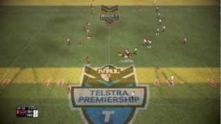 Rugby League Live 2 Gameplay Brisbane vs Panthers