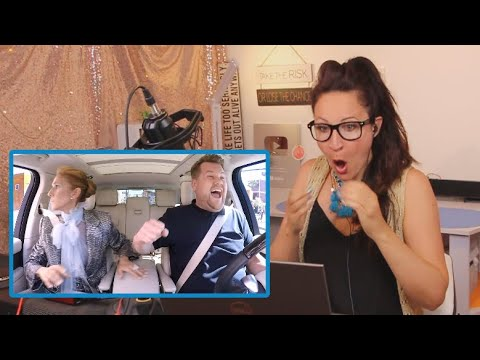 Vocal Coach Reacts to Céline Dion Carpool Karaoke