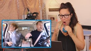 Download lagu Vocal Coach Reacts to Céline Dion Carpool Karaoke
