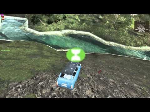 Driving A Minibus Off Of A Cliff DayZ Lingor