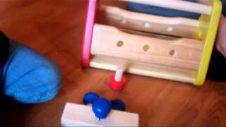 The Wooden Toy Shop Pintoy Tool Box