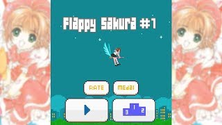 Flappy Sakura Android Gameplay #1 (Harder Than Flappy Bird?)