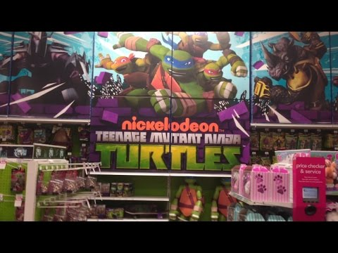 TMNT Ultimate Shopping Experience (Toys R Us) - 2015
