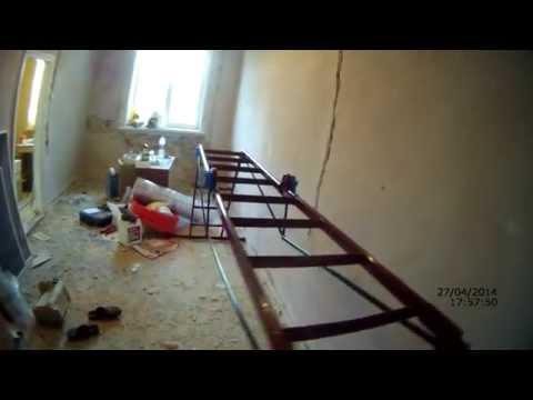 как очистить стены от клея и обзор лесницы Трансформер