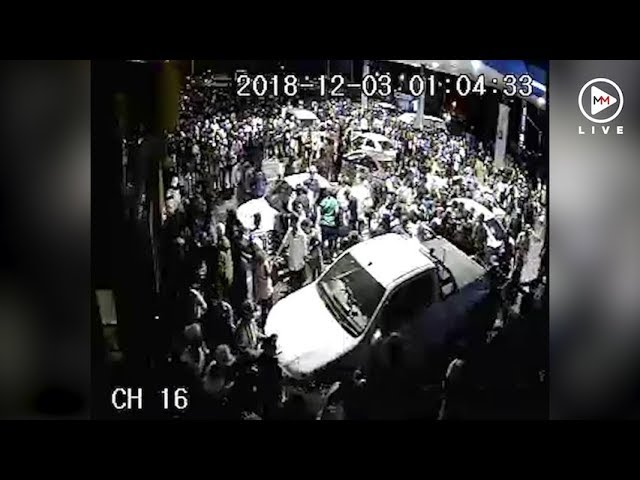 Crime and chaos at Sasol garage after Global Citizen Festival
