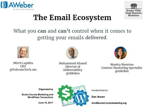 The Email Ecosystem