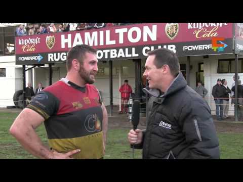 Cape Rugby TV - Hamiltons Coach Anton Moolman and Captain JG Giliomee