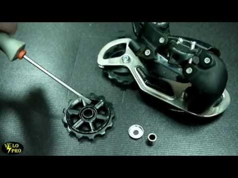 Разница между задними переключателями велосипеда shimano по уровням.