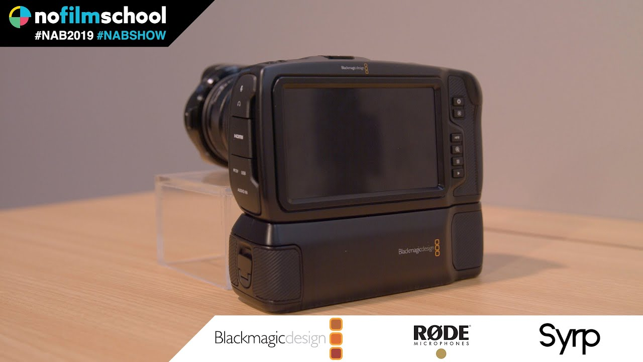 Up Close With Blackmagic S Battery Grip Solution For The Pocket 4k Camera Youtube