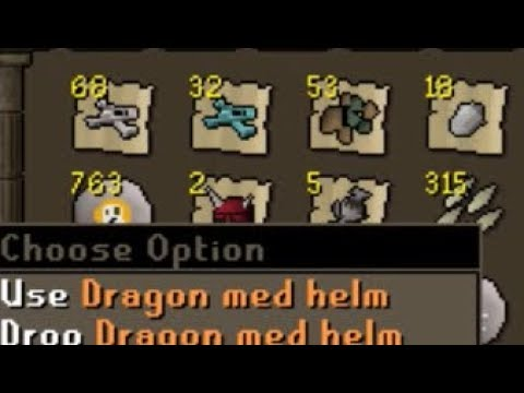 Loot from 100 ADAMANT DRAGONS