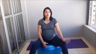 De quadril semanas grávida 18 nas no pernas e dor