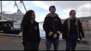 Sea Shepherd Global's Capt Peter Hammarstedt on Operation GrindStop's New Logo