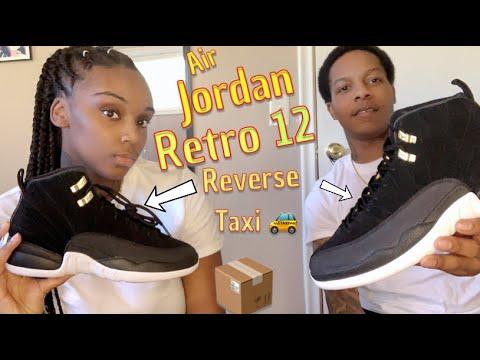 Air Jordan 12 Reverse Taxi Unboxing Youtube