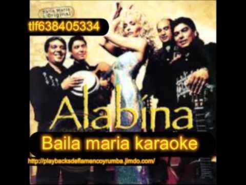 ALABINA BAILA MARIA KARAOKE