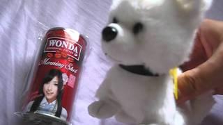 WONDA×AKB48 ワンダフルルーレットキャンペーンのオリジナルグッズ。こ...