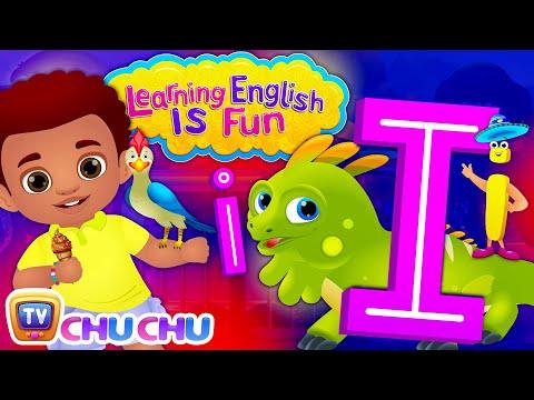 "Learning English Is Fun™   Alphabet ""I""   ChuChu TV Phonics & Words Learning For Preschool Children"