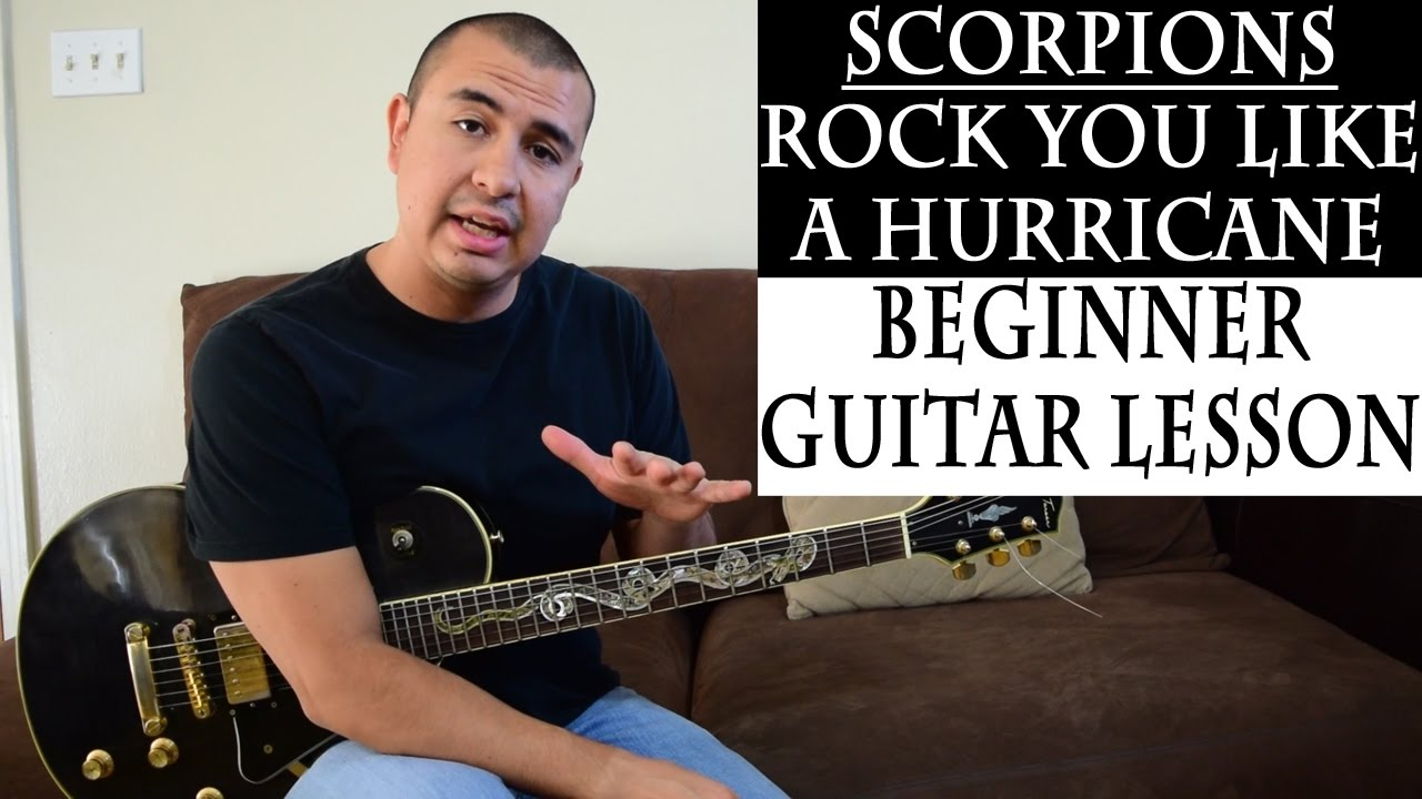 Easy beginner lesson scorpions rock you like a hurricane power easy beginner lesson scorpions rock you like a hurricane power chords hexwebz Gallery