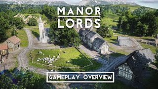 Manor Lords - Gameplay Overview | Medieval RTS/Citybuilder