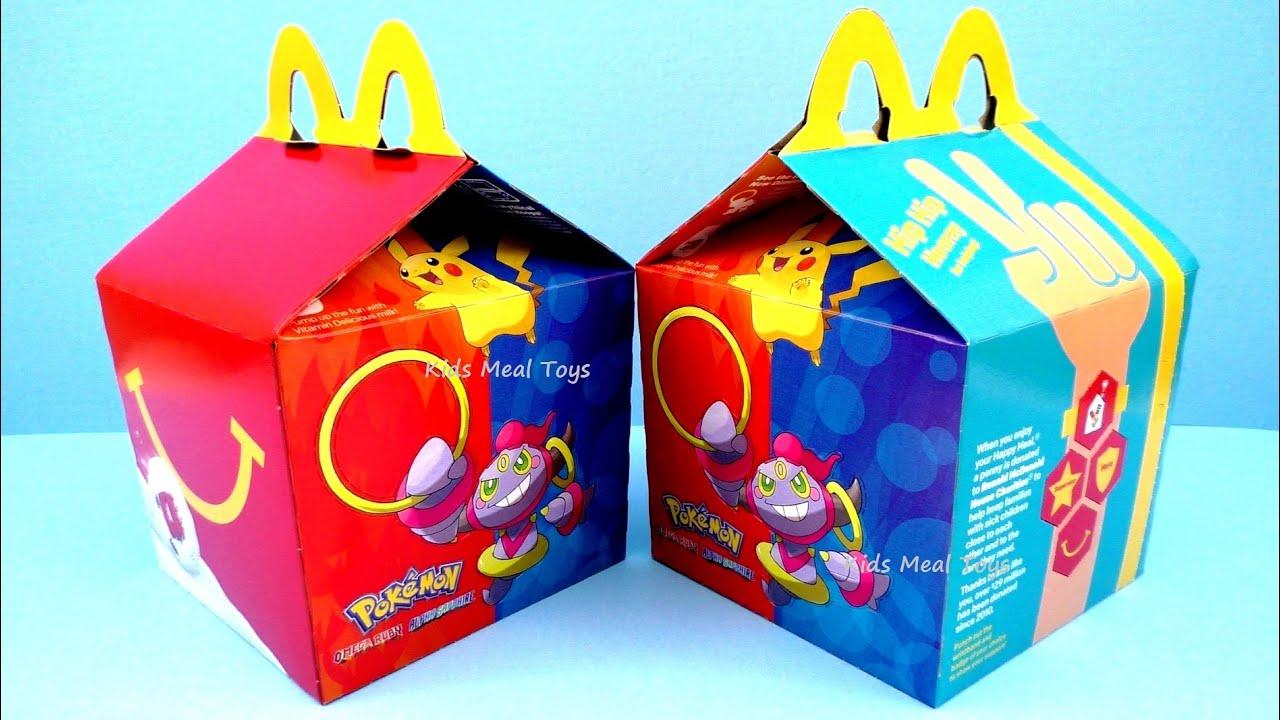 Mcdonalds Happy Meal Box Toys