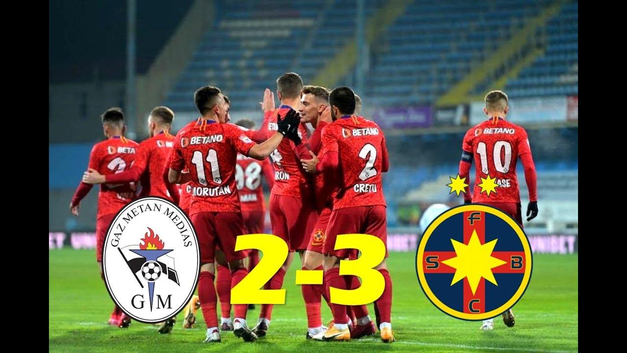 GAZ METAN MEDIAS - FCSB 2-3 | REZUMAT | Dubla lui OLARU Duce Steaua (FCSB) Pe Primul Loc!