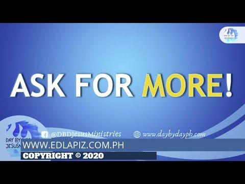 Download Ed Lapiz - ASK FOR MORE!