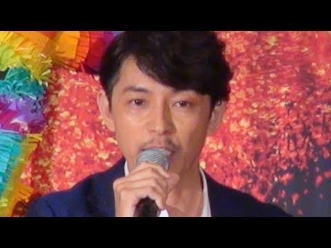 藤木直人、松雪泰子、石橋陽彩の3人が『リメンバー・ミー』大ヒット御礼舞台挨拶