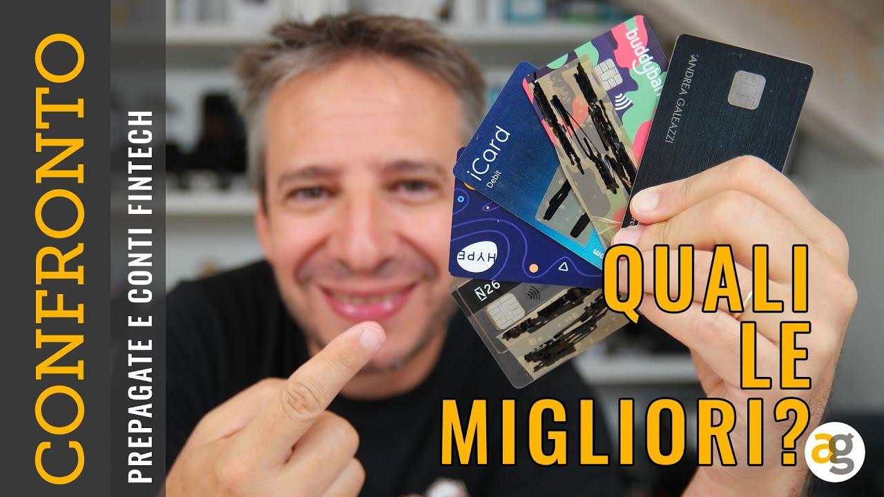 Download LA MIGLIOR PREPAGATA e CONTO SMART (Hype, BuddyBank, Revolut, N26, Satispay, iCard)