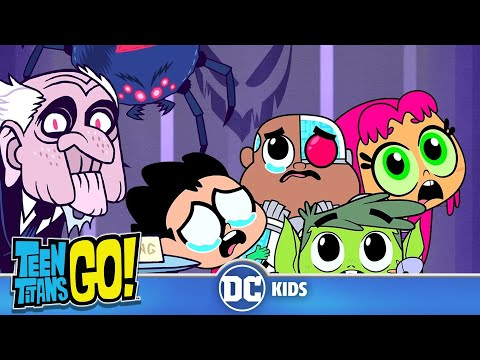 Teen Titans Go! | Baby Titans' First Halloween | DC Kids