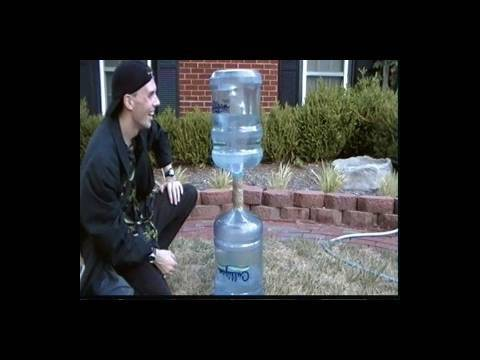 how to make an endless vortex water fountain