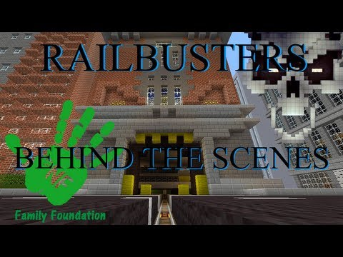 Railbusters - Behind the Scenes Minecraft Xbox Ghostbusters Roller Coaster (Download) Nuro & River
