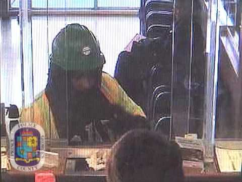 Oxon Hill Bank Robbery Suspect
