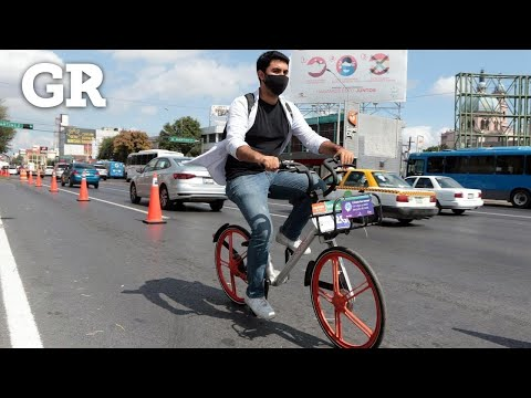 Prestan bicis para probar ciclopista
