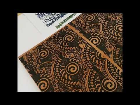 VONU 🐢 Fijian Turtle Tribal Screenprint Session