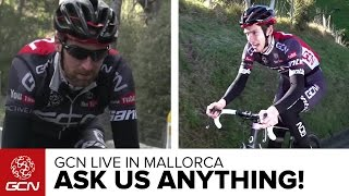 Ask GCN Anything About Cycling – Live From Mallorca