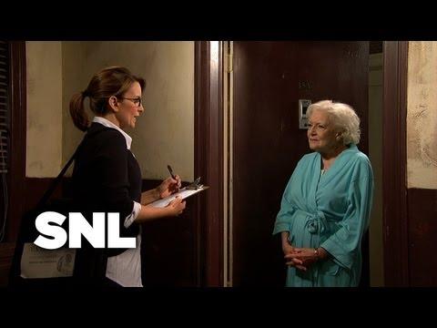 Census Taker vs. Old Lady - SNL