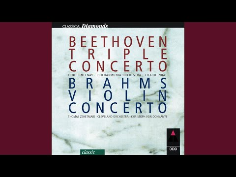 Beethoven : Triple Concerto in C major Op.56 : I Allegro